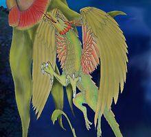 gumnut dragon by Kestrelle