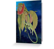 gumnut dragon Greeting Card