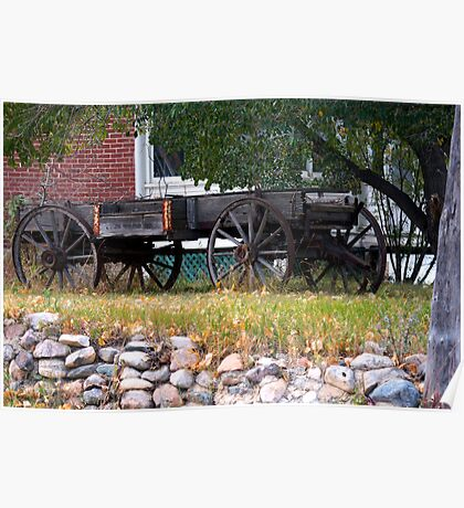 Workless Hay Wagon Poster