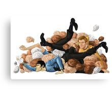 Laocoon orgy of tribbles Canvas Print