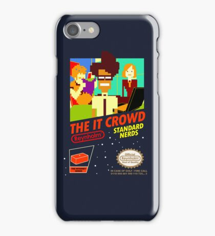 The IT Crowd NES game   iPhone Case iPhone Case/Skin