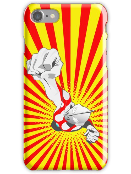 Ultraman iPhone case by superiorgraphix