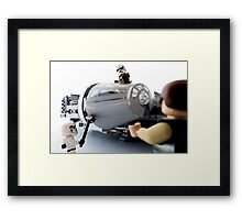 The Empire's gone, you work for me now. And I want two coats of wax this time. Framed Print