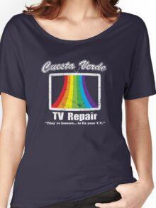 Cuesta Verde TV Repair Women's Relaxed Fit T-Shirt