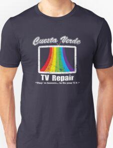 Cuesta Verde TV Repair Unisex T-Shirt