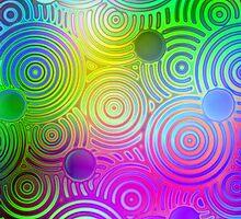 Dizzy Spirals (iPhone case) by Maria Dryfhout