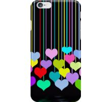 Hanging Hearts (iPhone case) iPhone Case/Skin