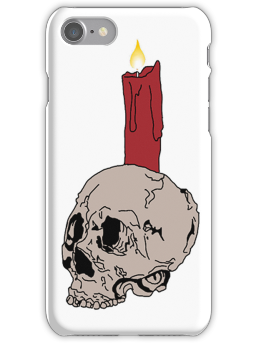 Skull and Candle by antiseptik