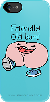 "Willy Bum Bum - ""Friendly Old Bum!"" by alienredwolf"