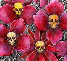 Skulls at the bottom of my garden by melaniedann
