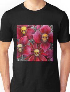 Skulls at the bottom of my garden Unisex T-Shirt