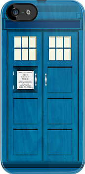 The Tardis | iPhone Case by Tom Trager