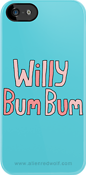 "Willy Bum Bum - ""Logo"" by alienredwolf"