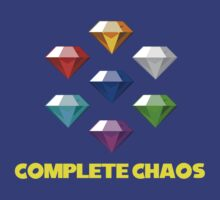 Chaos Emeralds by Davesonishville