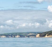 Along The Dorset Coastline Sticker