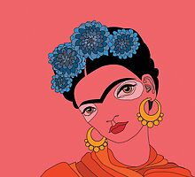 Frida Kahlo by sweetolive