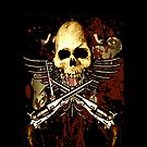 Sixgun Skull by Larry Oates