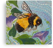 Miss Bumble Canvas Print