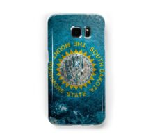 South Dakota Grunge Samsung Galaxy Case/Skin