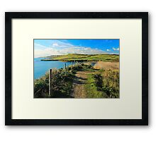 Jurassic Coast, Kimmeridge Bay Framed Print