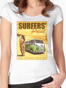 VW Kombi Surf Design Women's Fitted Scoop T-Shirt