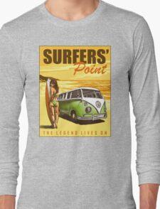 VW Kombi Surf Design Long Sleeve T-Shirt