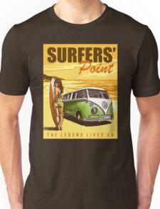 VW Kombi Surf Design Unisex T-Shirt