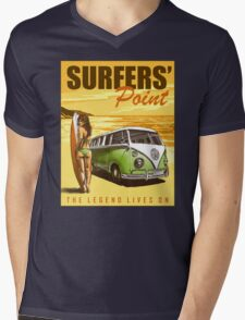 VW Kombi Surf Design Mens V-Neck T-Shirt