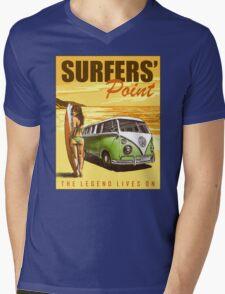 VW Kombi Surf Design Mens V-Neck T-Shirt