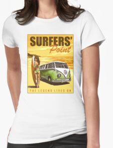 VW Kombi Surf Design Womens Fitted T-Shirt
