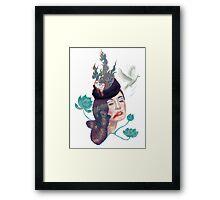 Friday Lady Framed Print