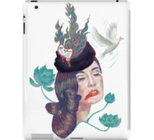 Friday Lady iPad Case/Skin