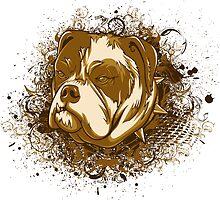 Bully Dog by KimberlyMarie