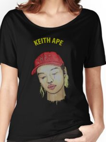 keith ape IT G MA Women's Relaxed Fit T-Shirt