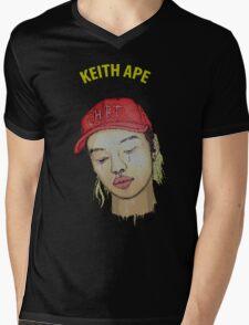 keith ape IT G MA Mens V-Neck T-Shirt