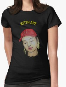 keith ape IT G MA Womens Fitted T-Shirt