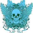 Angel Skull by KimberlyMarie