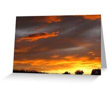 Sunset....10-5-2011 Greeting Card
