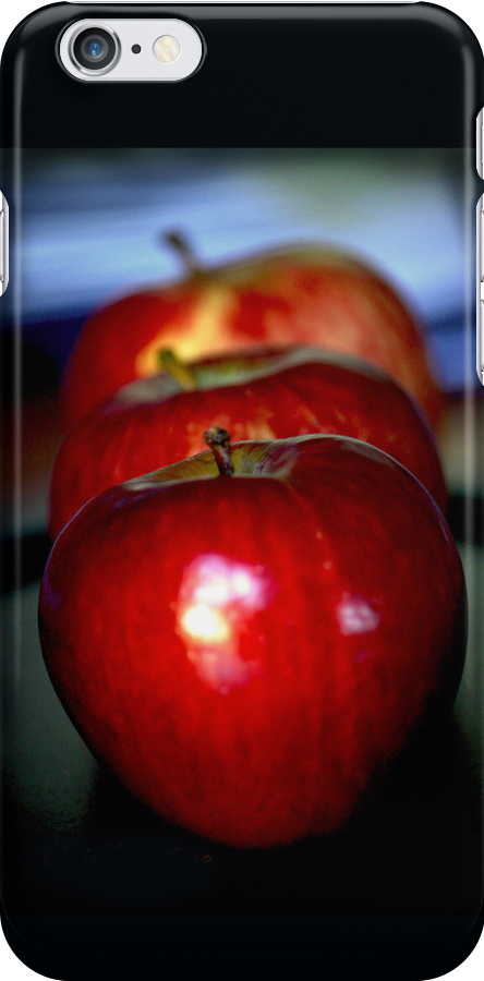 Just apples iPhone cover by Chris Armytage™