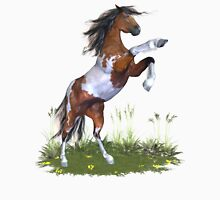 Rearing Paint Stallion .. tee shirt Womens Fitted T-Shirt