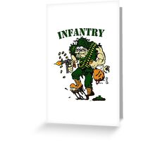 Infantry grunt ground isis Greeting Card