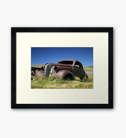 Bodie State Park, CA Framed Print