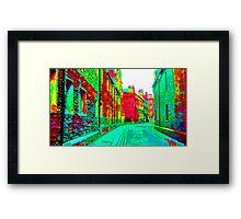 Cambridge City  Framed Print
