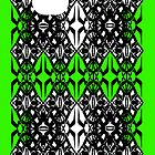 Green tech pattern by Cranemann
