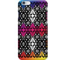 Rainbow tech pattern iPhone Case/Skin
