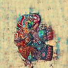 vintage elephant iPhone iPod iPad cases  by © Cassidy (Karin) Taylor
