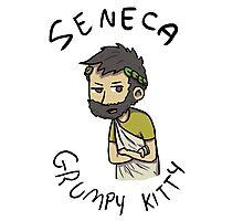 Seneca Grumpy Kitty Photographic Print