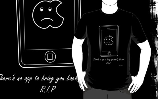 Rest in Peace, Steve Jobs! by prakydotcom