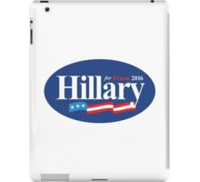 hillary for prison 2016 iPad Case/Skin