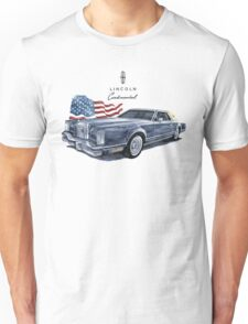 Lincoln Continental  Unisex T-Shirt